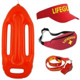 Lifeguard Accessories Set Red / Yellow